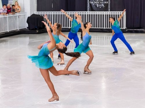 Photo of Next Ice Age Ice Show Group Skating